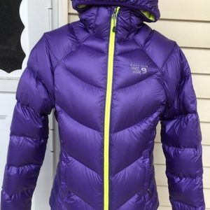 Women's 100% Down Puffer Mountain Hard Wear Jacket
